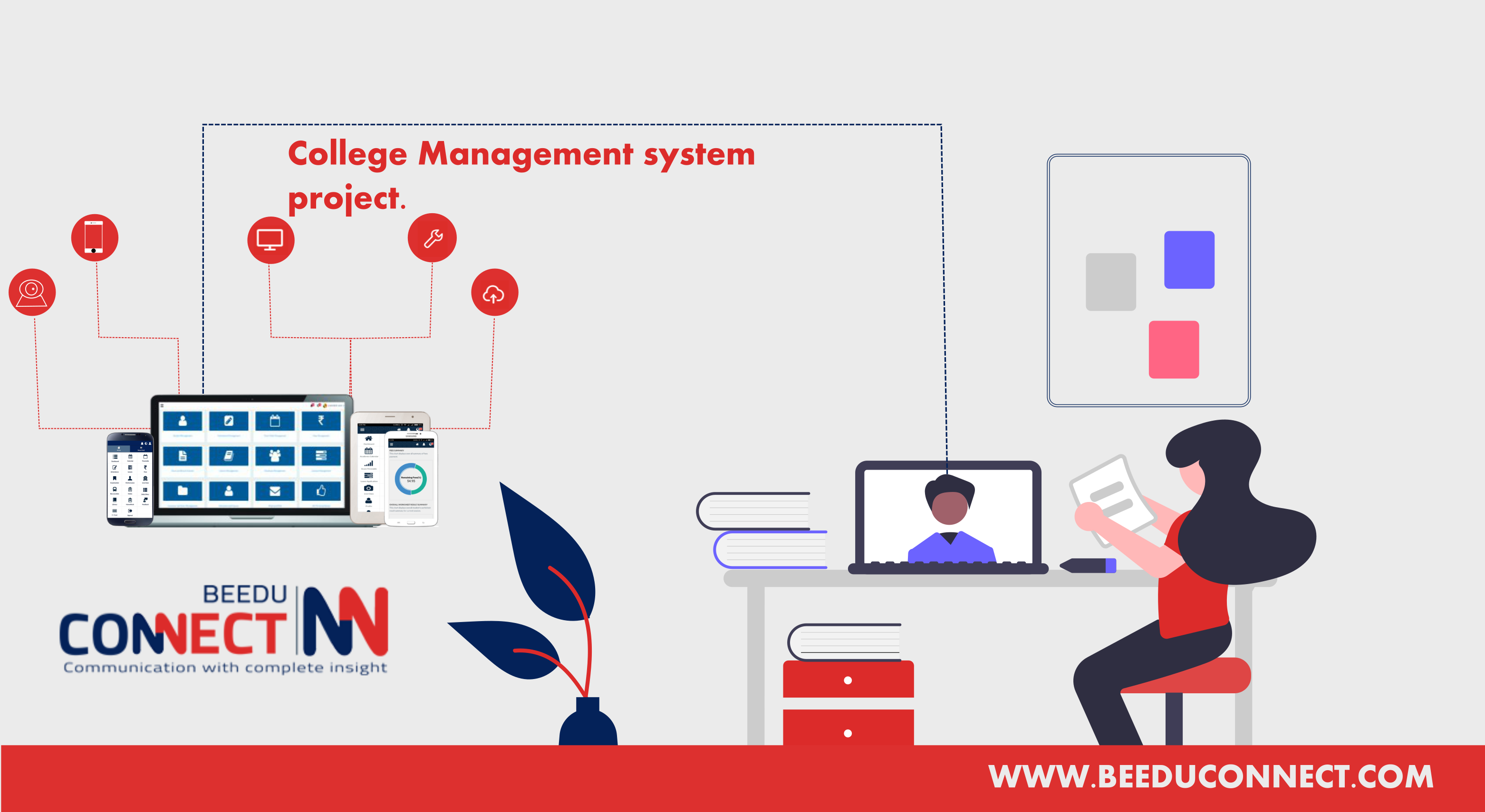 Online college management system project