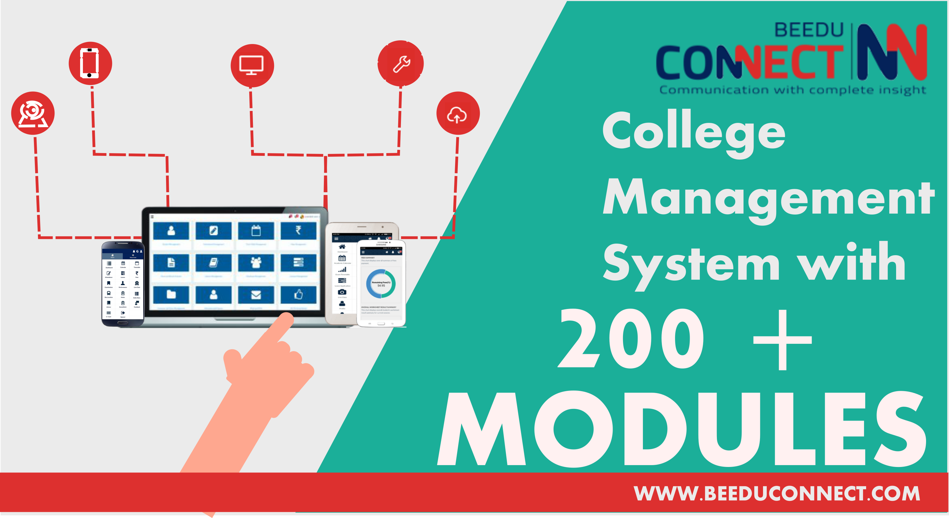 College management system modules