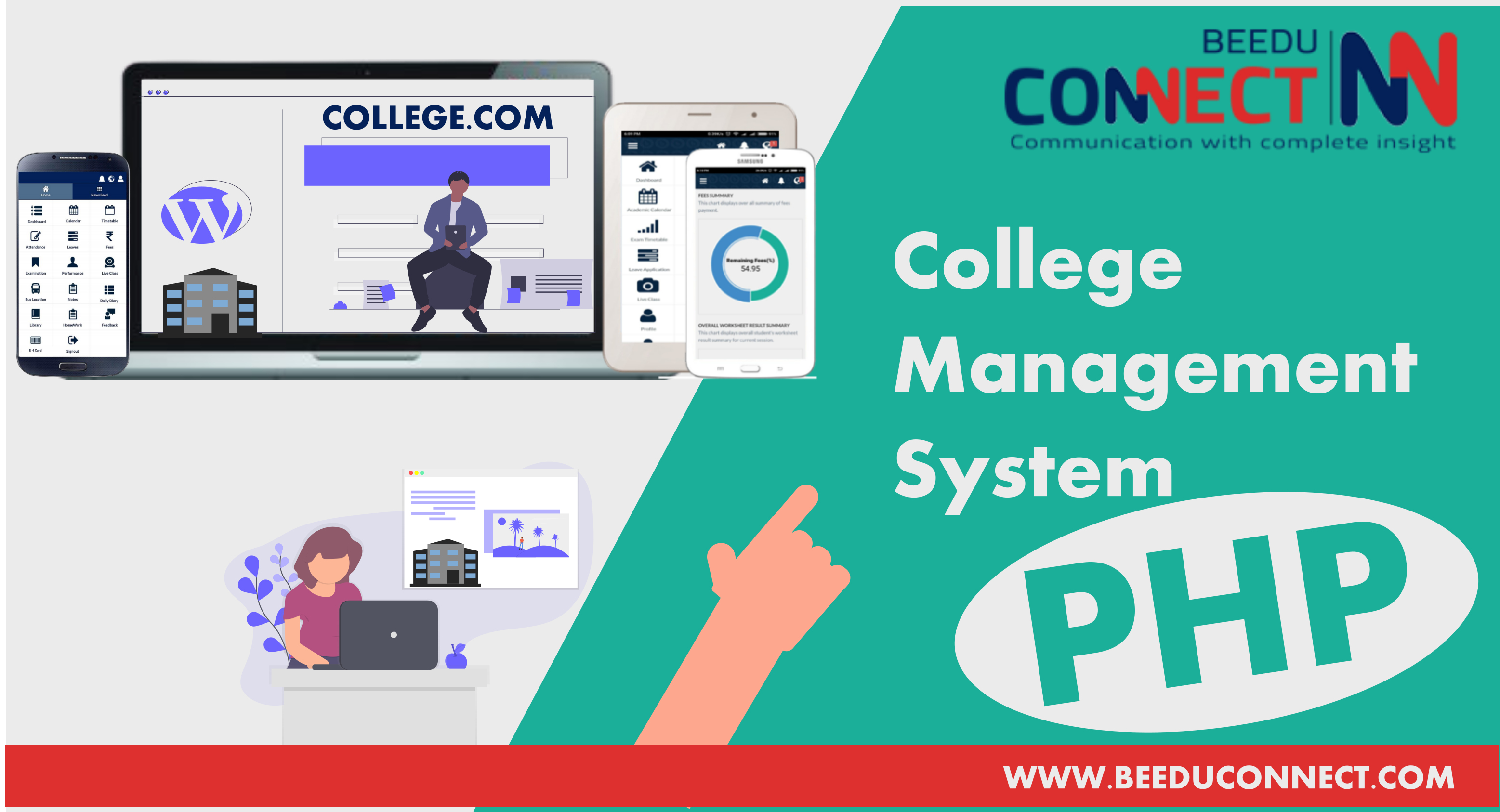 college management system php